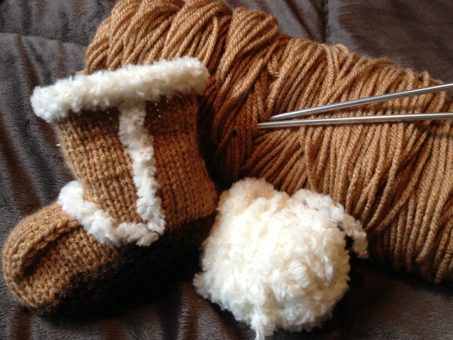 What I'm Knitting Today
