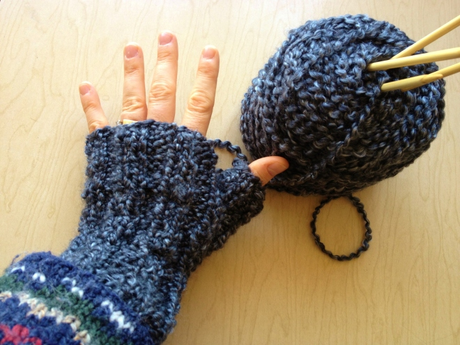 What I am Knitting Today